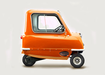 Peel P50 Replica Reproduction Orange