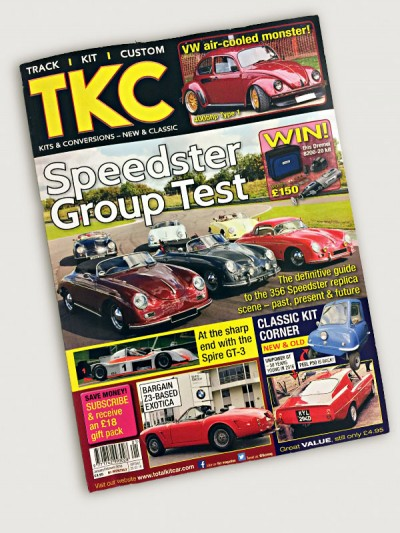 Total Kit Car Magazine TKC, Peel P50 edition