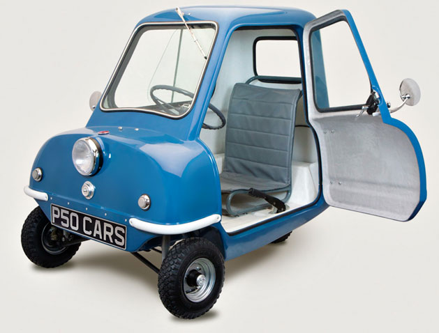 p50cars.com P50 Replica Blue Top Gear UK Jeremy Clarkson 1960s Isle of Man
