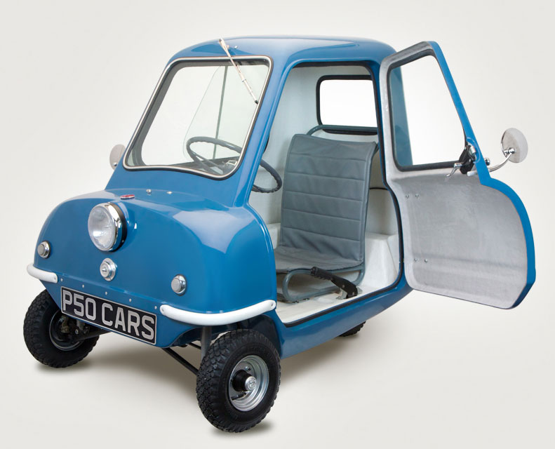 Think Smallest Recreation of the legendary P50 Microcar made in Isle of Man
